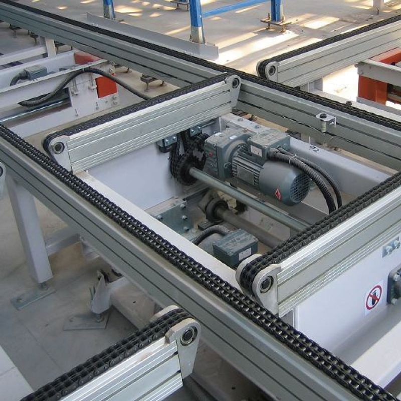 Pop-up And Chain Offset Conveyor